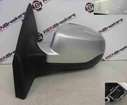 Renault Clio MK3 2009-2012 Passenger NS Wing Mirror Silver TED69