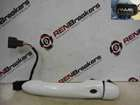Renault Clio MK4 2013-2015 Drivers OSF Front Exterior Door Handle White