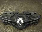 Renault Clio MK4 2013-2015 Front Bumper Grille Support Plate Black Chrome