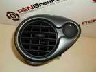 Renault Clio Sport 2009-2012 200 Drivers OSF Dashboard Air Vent Silver