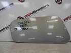 Renault Grand Espace 2003-2013 Fuel Flap Cover Silver TEA19