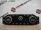 Renault Koleos 2008-2010 Heater Controls Dials Digital