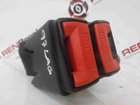 Renault Laguna 1993-1999 Rear Seatbelt Buckle Anchor Clip Red Red