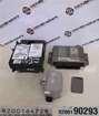 Renault Laguna 2001-2005 1.8 16v ECU SET UCH BCM Immobiliser Lock + Key Card