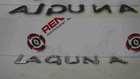 Renault Laguna 2001-2005 Rear Badge Letters Emblem Laguna Boot Logo