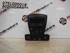 Renault Laguna 2007-2012 Heater Dials Controls Air Con Hazard Switch