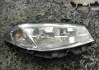 Renault Megane 2002-2006 Drivers OSF Front Headlight Lens