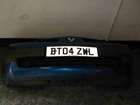 Renault Megane 2002-2006 Front Bumper Blue TEI45 TE145