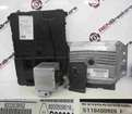 Renault Megane 2002-2008 1.4 16v ECU SET UCH BCM Steering Lock + Key Card