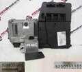 Renault Megane 2002-2008 1.9 dCi ECU SET UCH BCM Steering Lock + Key Card