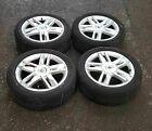 Renault Megane 2002-2008 Celcius Alloy Wheels X4 17inch Tyres 205 50 17 4 STUD