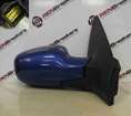 Renault Megane 2002-2008 Drivers OS Wing Mirror Blue TEI45 TE145