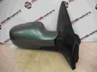 Renault Megane 2002-2008 Drivers OS Wing Mirror Green TED97
