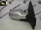 Renault Megane 2002-2008 Drivers OS Wing Mirror Silver TED69 Folding
