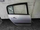 Renault Megane 2002-2008 Drivers OSR Rear Door Silver TED69 1