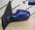 Renault Megane 2002-2008 Passenger NS Wing Mirror Blue TERNA