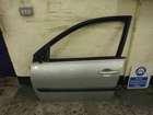 Renault Megane 2002-2008 Passenger NSF Front Door 5dr TED69 Silver