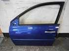 Renault Megane 2002-2008 Passenger NSF Front Door Blue TERNA 5DR