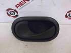 Renault Megane 2002-2008 Passenger NSF Front Interior Door Handle Black