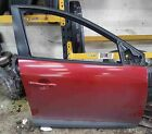 Renault Megane MK3 2008-2014 Drivers OSF Front Door Red TENNJ 5dr