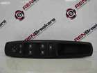 Renault Megane MK3 2008-2014 Drivers OSF Front Window Switches Panel Wing Mirror