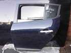 Renault Megane MK3 2008-2014 Passenger NSR Rear Door Blue NV472