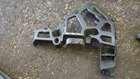 Renault Megane MK3 Hatchback 2008-2010 Passenger NSR Rear Bumper Bracket Support