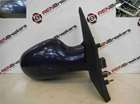Renault Megane Scenic 1999-2003 Drivers OS Wing Mirror Blue TED44