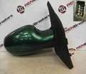 Renault Megane Scenic 1999-2003 Drivers OS Wing Mirror Green 926 Electric