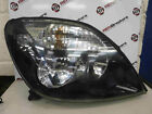 Renault Megane Scenic 1999-2003 Drivers OSF Front Headlight Black Cloudy