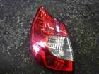 Renault Megane Scenic 2006-2009 Passenger NSR Rear Light Clear 8200474328