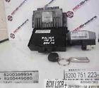 Renault Modus 2004-2008 1.5 dCi ECU SET UCH Steering ECU + Key Fob 8200398934