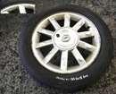 Renault Modus 2004-2008 Alloy Wheel Kimono 15inch Tyre + 185 60 15 5mm Tread