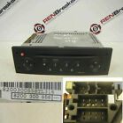 Renault Modus 2004-2008 CD Player Tuner List Black + Code 8200300858