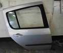 Renault Modus 2004-2008 Drivers OSR Rear Door Silver TED69