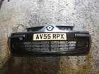 Renault Modus 2004-2008 Front Bumper Black 676
