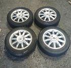 Renault Modus 2004-2008 Kimino Alloy Wheels X4 Set + Tyres 185 60 15