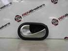 Renault Modus 2004-2008 Passenger NSR Rear Interior Door Handle Chrome