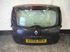 Renault Modus 2004-2008 Rear Tailgate Boot Black 676