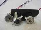 Renault Scenic 1999-2003 Ignition Barrel Lock Set 2 Door Locks Boot Mechanism