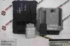 Renault Scenic 2003-2009 2.0 dCi ECU SET UCH BCM Steering Lock + Key Card