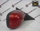 Renault Scenic 2003-2009 Drivers OS Wing Mirror Red TEB76