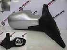 Renault Scenic 2003-2009 Drivers OS Wing Mirror Silver TED69
