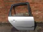 Renault Scenic 2003-2009 Drivers OSR Rear Door Silver TED69