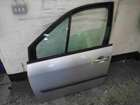 Renault Scenic 2003-2009 Passenger NSF Front Door Silver TED69