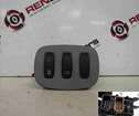 Renault Trafic 2001-2006 Lock Button Rear Demister Switch Panel