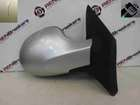 Renault Twingo 2007-2012 Drivers OS Wing Mirror Silver TED69