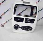 Renault Zoe 2012-2018 Centre Dashboard Heater Controls Display Surround White